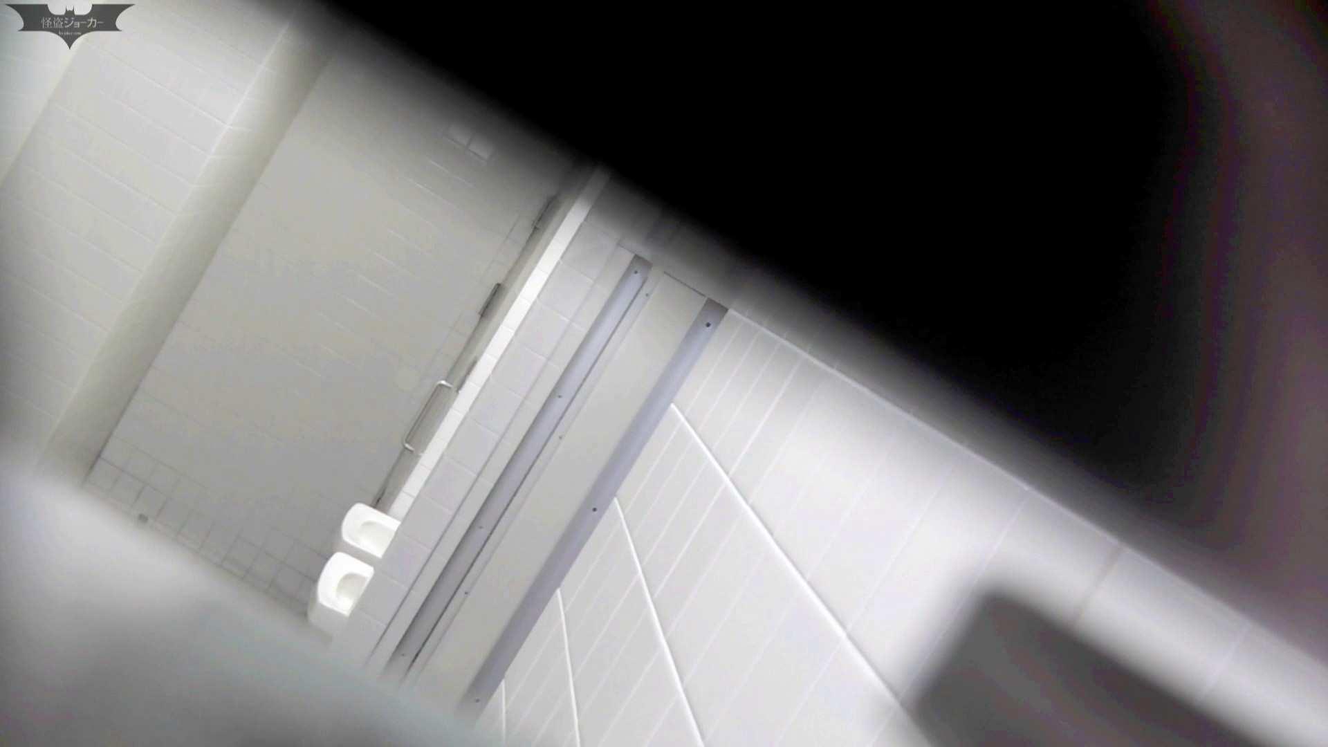 お銀 vol.68 無謀に通路に飛び出て一番明るいフロント撮り実現、見所満載 美人   洗面所  105pic 73