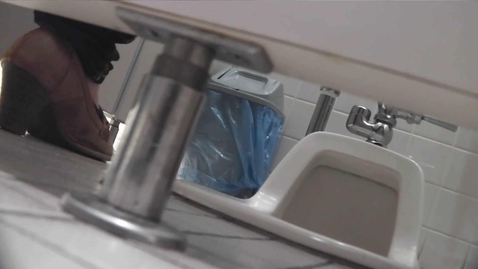 お銀さんの「洗面所突入レポート!!」 vol.26 あひるさん 美人 性交動画流出 100pic 8
