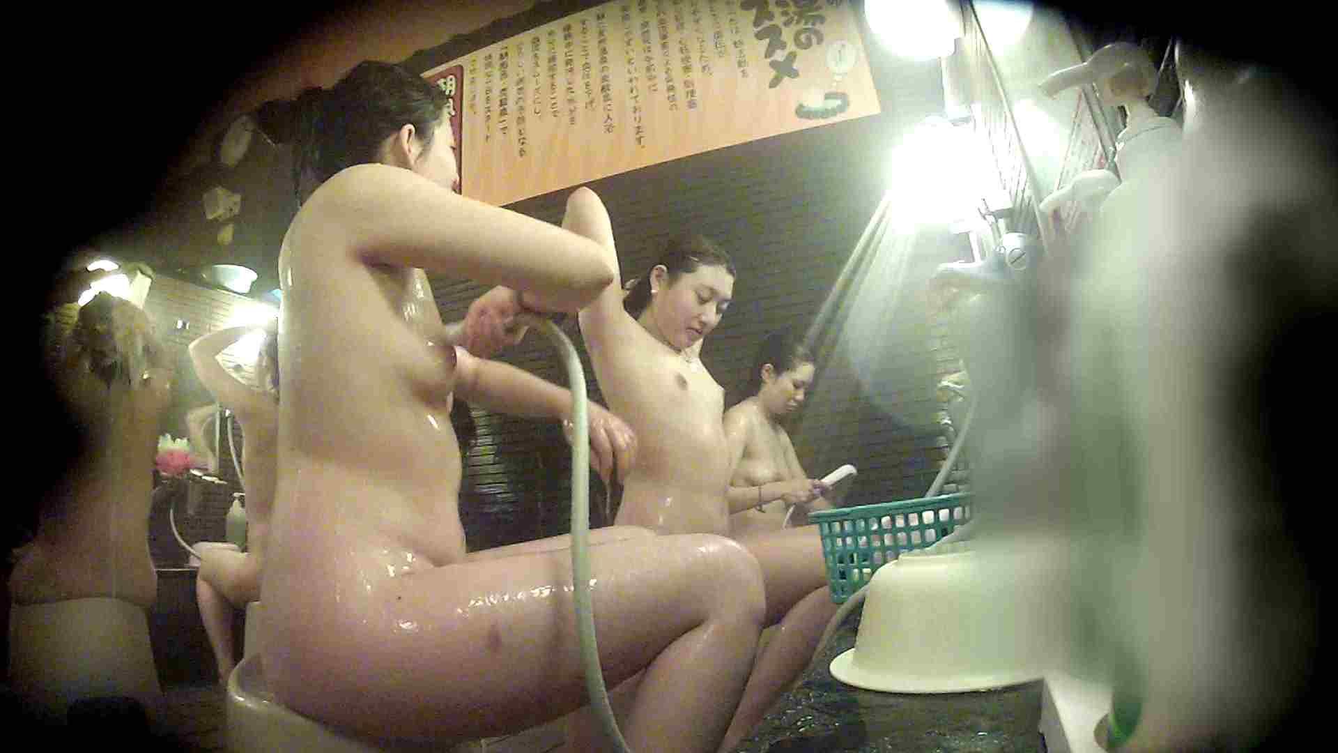 洗い場!お二人とも清楚でお美しいでございます。 銭湯  50pic 12
