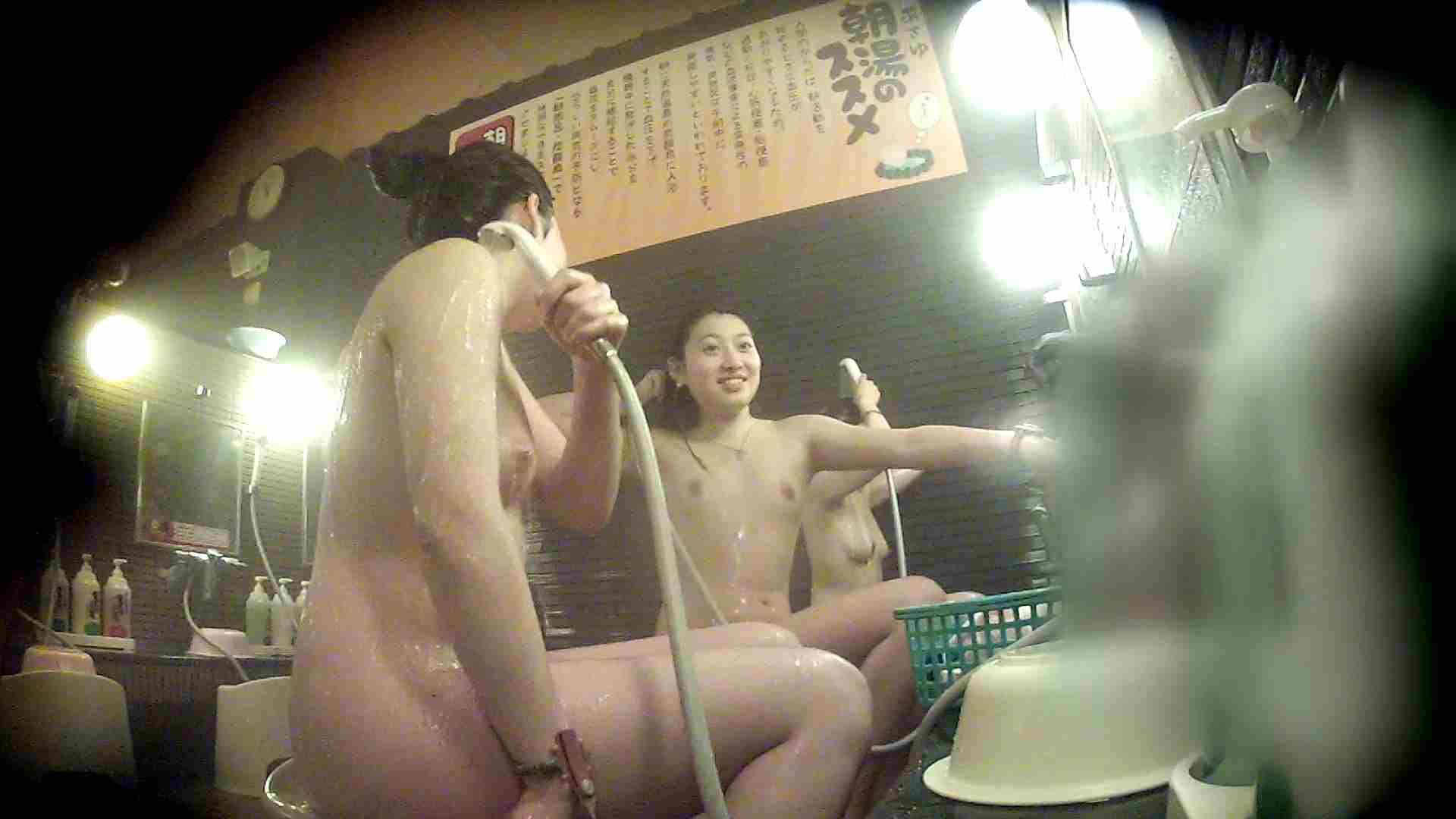 洗い場!お二人とも清楚でお美しいでございます。 銭湯  50pic 44