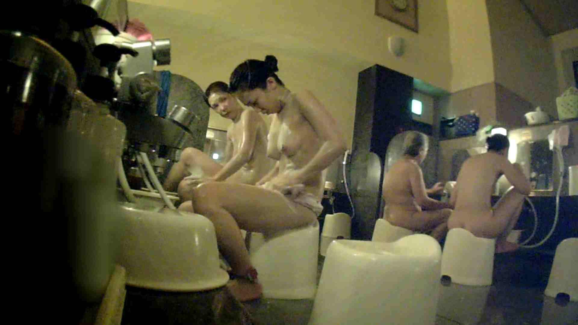 [画質UP]TG.17 【二等兵】ちょっと遠い…オデコの広い優しいお女市さん 潜入 | 女風呂  75pic 33